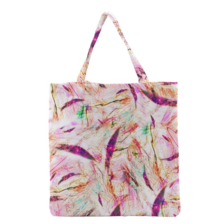 Grass Blades Grocery Tote Bag