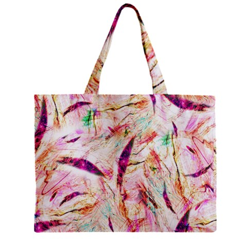 Grass Blades Zipper Mini Tote Bag