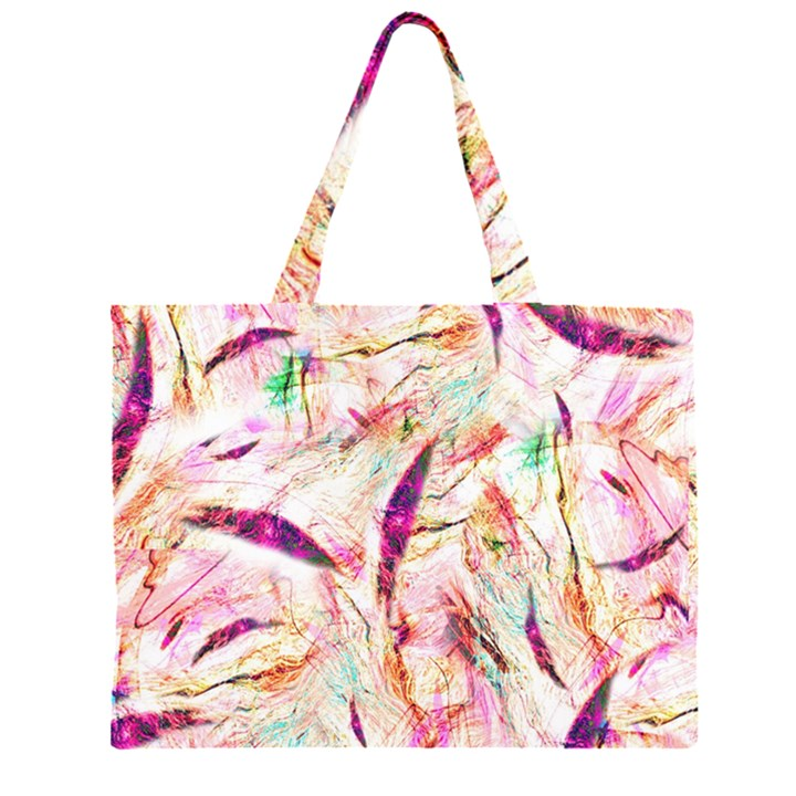 Grass Blades Large Tote Bag