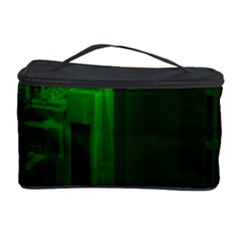 Green Building City Night Cosmetic Storage Case