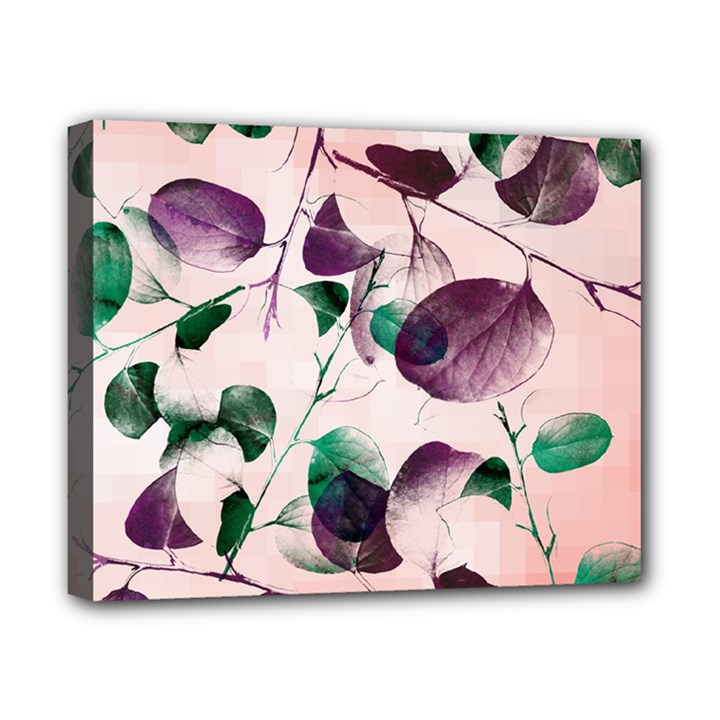 Spiral Eucalyptus Leaves Canvas 10  x 8