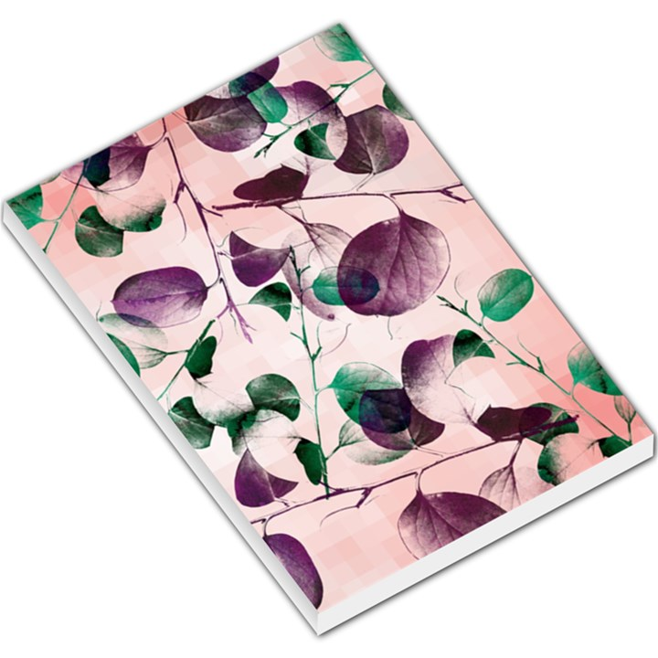 Spiral Eucalyptus Leaves Large Memo Pads