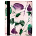 Spiral Eucalyptus Leaves Apple iPad 3/4 Flip Case View3