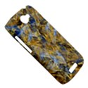 Antique Anciently Gold Blue Vintage Design HTC One S Hardshell Case  View5