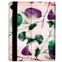 Spiral Eucalyptus Leaves Samsung Galaxy Tab 10.1  P7500 Flip Case View2