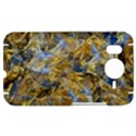 Antique Anciently Gold Blue Vintage Design HTC Desire HD Hardshell Case  View1