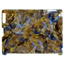 Antique Anciently Gold Blue Vintage Design Apple iPad 2 Hardshell Case (Compatible with Smart Cover) View1