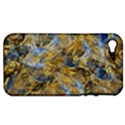 Antique Anciently Gold Blue Vintage Design Apple iPhone 4/4S Hardshell Case (PC+Silicone) View1