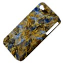 Antique Anciently Gold Blue Vintage Design Apple iPhone 4/4S Hardshell Case (PC+Silicone) View4