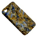 Antique Anciently Gold Blue Vintage Design Apple iPhone 4/4S Hardshell Case (PC+Silicone) View5
