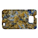 Antique Anciently Gold Blue Vintage Design Samsung Galaxy S II i9100 Hardshell Case (PC+Silicone) View1