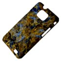 Antique Anciently Gold Blue Vintage Design Samsung Galaxy S II i9100 Hardshell Case (PC+Silicone) View4