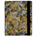 Antique Anciently Gold Blue Vintage Design Samsung Galaxy Tab 10.1  P7500 Flip Case View3