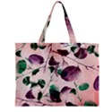 Spiral Eucalyptus Leaves Zipper Mini Tote Bag View2