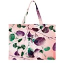 Spiral Eucalyptus Leaves Large Tote Bag View1