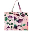 Spiral Eucalyptus Leaves Large Tote Bag View2
