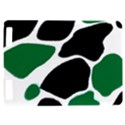 Green Black Digital Pattern Art Kindle Touch 3G View1