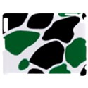 Green Black Digital Pattern Art Apple iPad 2 Hardshell Case (Compatible with Smart Cover) View1