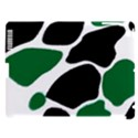 Green Black Digital Pattern Art Apple iPad 3/4 Hardshell Case (Compatible with Smart Cover) View1