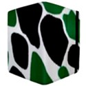 Green Black Digital Pattern Art Apple iPad 3/4 Flip Case View4