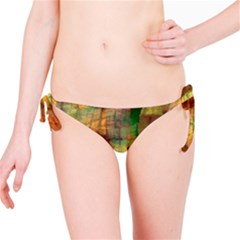 Indian Summer Funny Check Bikini Bottom