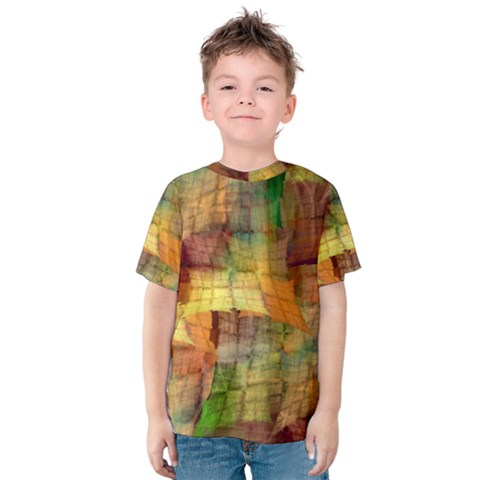 Indian Summer Funny Check Kids  Cotton Tee