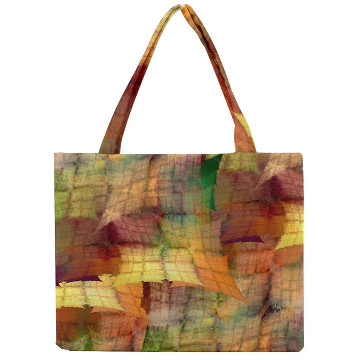 Indian Summer Funny Check Mini Tote Bag