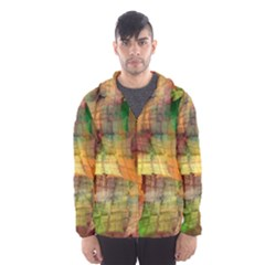 Indian Summer Funny Check Hooded Wind Breaker (Men)