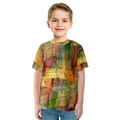 Indian Summer Funny Check Kids  Sport Mesh Tee