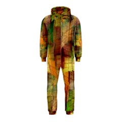 Indian Summer Funny Check Hooded Jumpsuit (Kids)