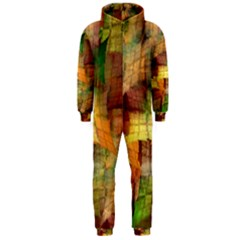 Indian Summer Funny Check Hooded Jumpsuit (men)