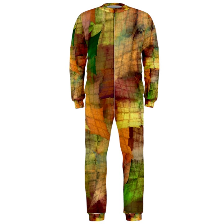 Indian Summer Funny Check OnePiece Jumpsuit (Men)