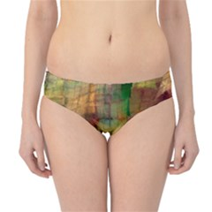 Indian Summer Funny Check Hipster Bikini Bottoms