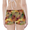 Indian Summer Funny Check Boyleg Bikini Wrap Bottoms View2