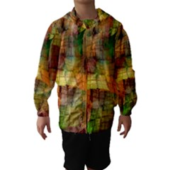 Indian Summer Funny Check Hooded Wind Breaker (Kids)