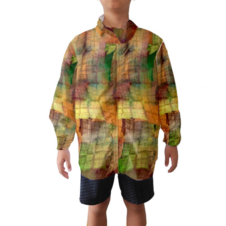 Indian Summer Funny Check Wind Breaker (Kids)