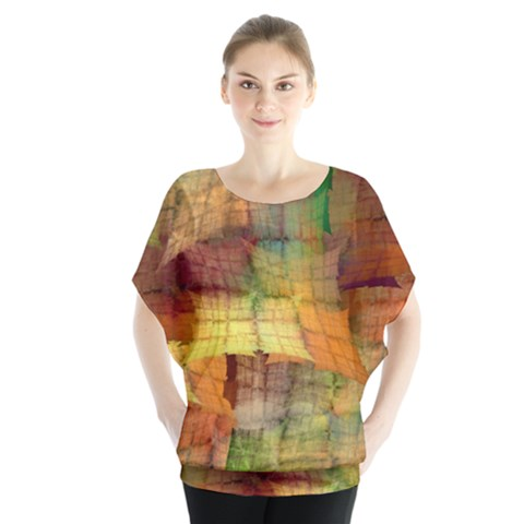 Indian Summer Funny Check Blouse