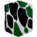 Green Black Digital Pattern Art iPad Air 2 Flip View3