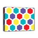 Hexagon Pattern  Deluxe Canvas 16  x 12   View1