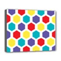Hexagon Pattern  Deluxe Canvas 20  x 16   View1