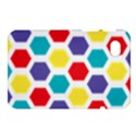 Hexagon Pattern  Samsung Galaxy Tab 7  P1000 Hardshell Case  View1