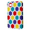 Hexagon Pattern  Samsung Galaxy Tab 7  P1000 Hardshell Case  View3