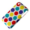 Hexagon Pattern  Apple iPhone 3G/3GS Hardshell Case (PC+Silicone) View4