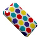 Hexagon Pattern  Apple iPhone 3G/3GS Hardshell Case (PC+Silicone) View5