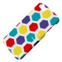 Hexagon Pattern  Apple iPhone 5 Hardshell Case with Stand View4