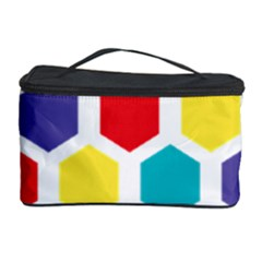 Hexagon Pattern  Cosmetic Storage Case