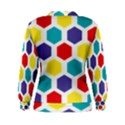 Hexagon Pattern  Women s Sweatshirt View2