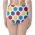 Hexagon Pattern  High-Waist Bikini Bottoms View2