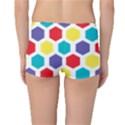 Hexagon Pattern  Reversible Boyleg Bikini Bottoms View2