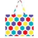 Hexagon Pattern  Large Tote Bag View1